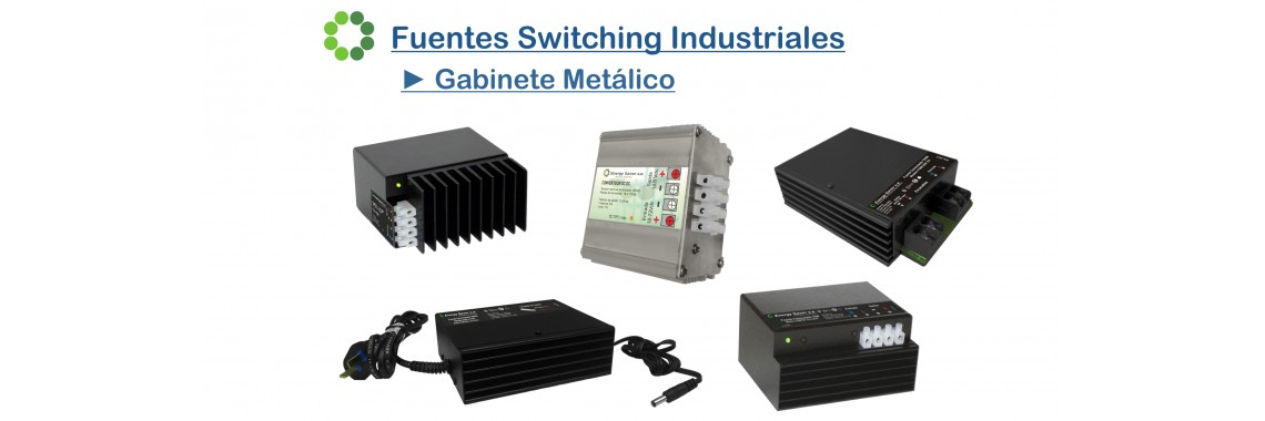 Fuente Switching Gabinete Metálico