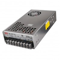 Fuente Switching Mean Well 24V 18,8A 450W  │ SE450 24  │  Gabinete Metálico Modular